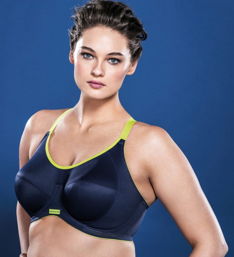 Sports bra for woman with mastectomy